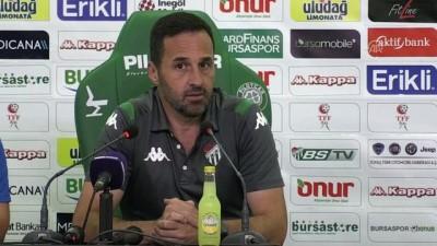 Bursaspor - Osmanlıspor maçının ardından - BURSA