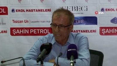 Ekol Göz Menemenspor - Akhisarspor maçının ardından