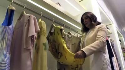 'Gaziantep mutfağı' kadınların kıyafetlerini süsledi