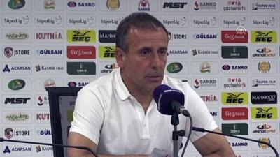 Gazişehir Gaziantep - Beşiktaş maçın ardından - Beşiktaş Teknik Direktörü Abdullah Avcı - GAZİANTEP