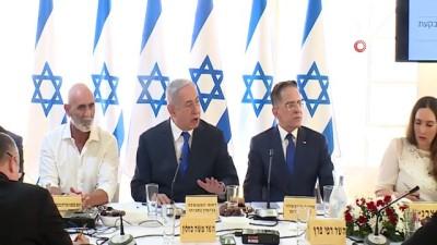 - İsrail kabinesi işgal altındaki Ürdün Vadisi'nde toplandı - İsrail Başbakanı Binyamin Netanyahu, Ürdün Vadisi ve Ölü Deniz'in kuzeyindeki bölgeleri İsrail'e ilhak etme taahhüdünü yineledi