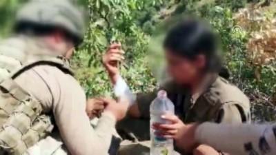 Mehmetçik'ten yaralı teröriste şefkat eli - HAKKARİ