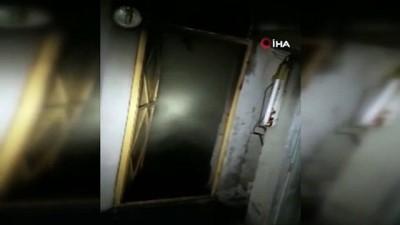 Samandağ'daki yangında ev kullanılamaz hale geldi