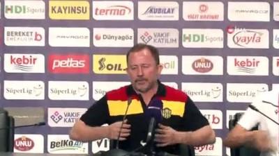 """Sergen Yalçın: """"Son 2 haftayı mağlubiyetle kapattık ama güçlü bir oyun sergiledik"""""""
