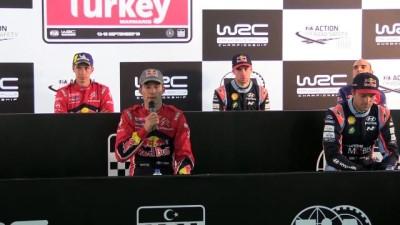 Türkiye Rallisi birincisi Ogier: 'Şimdilik zaferin tadını çıkartabiliriz' - MUĞLA