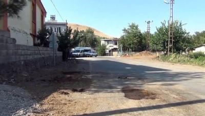 Bahçe duvarında tarihi mezar taşı - GAZİANTEP