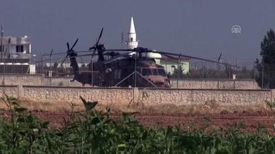 Fırat'ın doğusunda beşinci ortak helikopter uçuşu - ŞANLIURFA