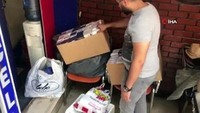 kacakcilik -  İstanbul'da 5 milyon lira değerinde kaçak ürün operasyonu