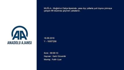 Muğla'da 99 düzensiz göçmen yakalandı