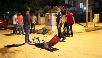 polis memuru - Polisten kaçarken kaza yapan 4 şüpheli yakalandı -ELAZIĞ