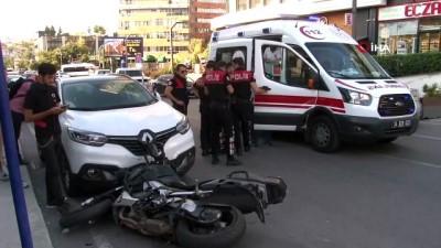 polis memuru -  Ataşehir'de kaza: 1 polis yaralı
