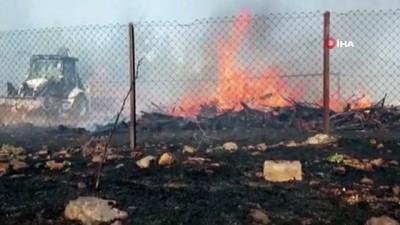 Bursa'da orman yangını...Çam ağaçları yanıyor