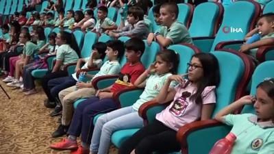 'Spor Kültürü ve Olimpiyat Eğitim Projesi' programı bin öğrencinin katılımıyla gerçekleştirildi