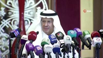 - Suudi Enerji Bakanı, petrol arzının normale döndüğünü açıkladı