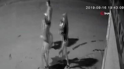 Tüyler ürperten cinayet kamerada... Kız kardeşiyle arkadaşlık yapan şahsı böyle öldürdü
