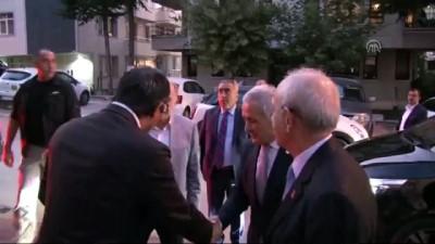 Kılıçdaroğlu'ndan taziye ziyareti - ANKARA