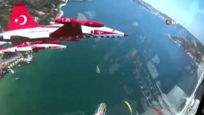 ziyaretciler -  Milli Savunma Bakanlığı Türk Yıldızlarının kokpit görüntülerini paylaştı
