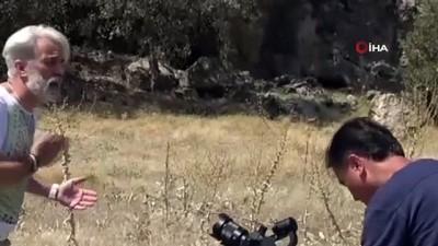 Tarihi antik kent Mesotimolos'u tanıtmak için klip çektiler Haberi