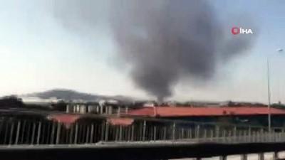 Tuzla'da deri sanayi bölgesinde yangın Haberi