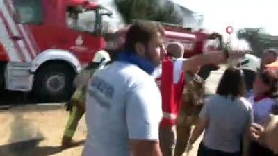 Tuzla'da fabrika yangınında patlama: 1 itfaiye eri yaralı Haberi