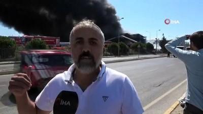 kimya -  Tuzla'daki yangında vatandaş olay anını anlattı