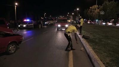 halk otobusu - Özel halk otobüsü ile otomobil çarpıştı: 5 yaralı - NİĞDE