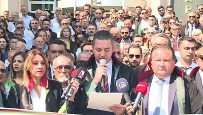 2019-2020 Adli Yılının açılışı - Ankara Barosu Başkanı Erinç Sağkan - ANKARA