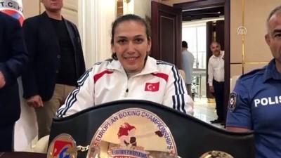 Avrupa şampiyonu boksör memleketine döndü - KARABÜK