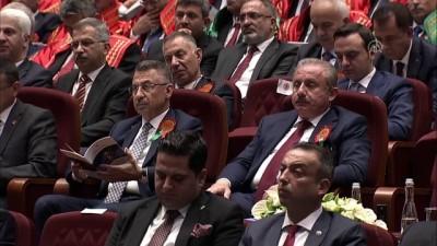 Cumhurbaşkanı Erdoğan: 'İlk çözmemiz gereken meselelerden biri, tüm meslek teşekküllerinin seçim yöntemlerinin, temsili demokrasiye uygun hale getirilmesidir' - ANKARA