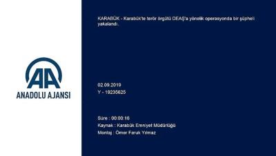 DEAŞ operasyonu - KARABÜK