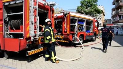 Manisa'da okul yangını