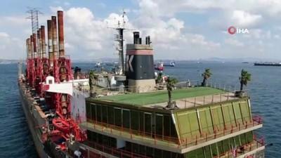 Yüzen enerji santrali İstanbul'da