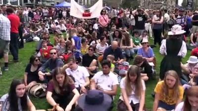 felaket - Avustralya'da 'Küresel İklim Grevi' - MELBOURNE