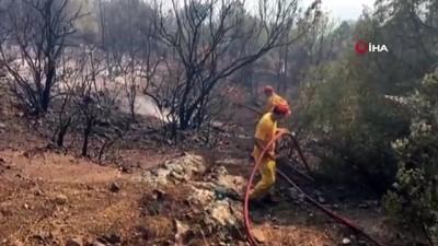 makilik alan -  Bilecik'te orman yangını: 6 hektarlık alan kül oldu