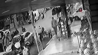 yasam mucadelesi -  Bisikletli çocuğa çarpmamak için park halindeki otomobile böyle çarptı