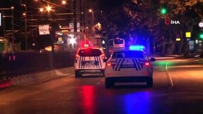 maskeli hirsizlar -  Fatih'te hırsızlar çaldıkları kasayı yol ortasında düşürdü
