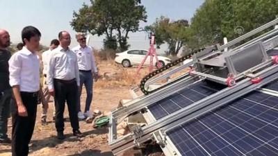 teknoloji - Güneş panellerini robot temizleyecek - MANİSA