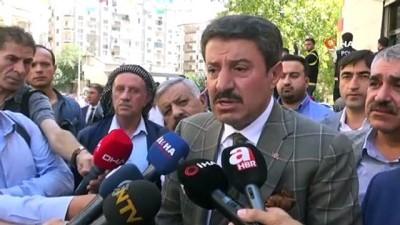 naat -  HDP önünde eylem yapan ailelere Jırki ve Tatar aşiretlerinden destek