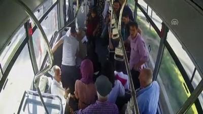 halk otobusu - Otobüste rahatsızlanan yolcusunu hastaneye götürdü - ADIYAMAN