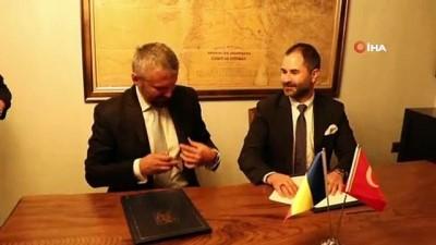 panda -  Romanya Fahri Konsolosu Mehmet Dinler görevine başladı