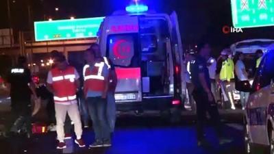 calisan kadin -  TEM'de yolun karşısına geçmeye çalışan kadına otomobil çarptı: 1 ölü