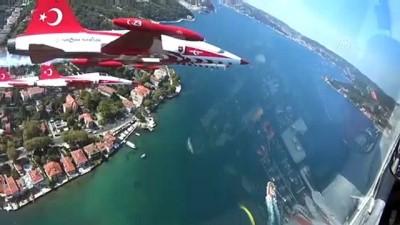 teknoloji - Türk Yıldızları'nın İstanbul'u selamlamasına 'kokpit içi' bakış (2)