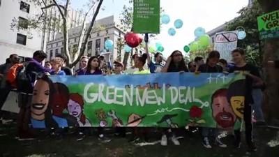 felaket - ABD'de iklim değişikliği protestosu - NEW YORK Video