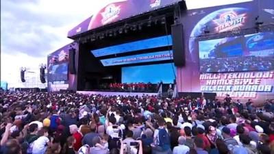 iletisim - Cumhurbaşkanı Erdoğan TEKNOFEST İstanbul ödül törenine katıldı (3) - İSTANBUL