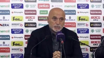 kalamis - Denizlispor - İstikbal Mobilya Kayserispor maçının ardından - KAYSERİ