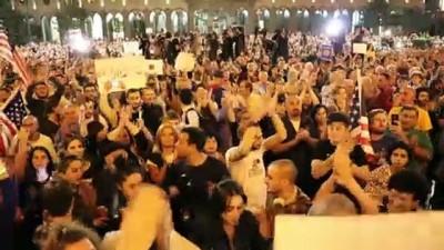 ucus yasagi - Gürcistan'da Rusya karşıtı protesto - TİFLİS