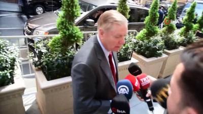 - Erdoğan, ABD'li senatör Graham ile görüştü