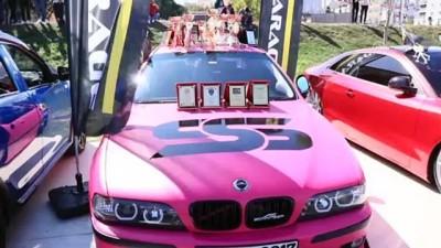 Modifiye araç tutkunları Samsun'da buluştu