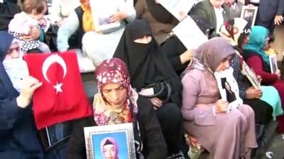 HDP önünde eylem yapan aile sayısı 21'inci günde 46'ya yükseldi