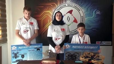 'Havali Bilyali' ile TEKNOFEST İstanbul'dan birincilikle döndüler - TRABZON